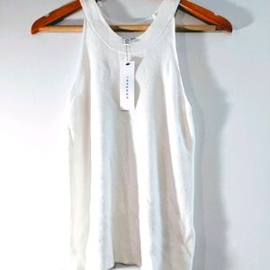 TOPSHOP knitted racer tank